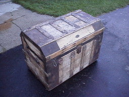 MM Secor trunk in as-found condition