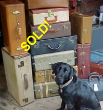 Antique and vintage suitcases for sale with Free USA Shipping