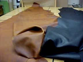 oil tanned leathers on sale
