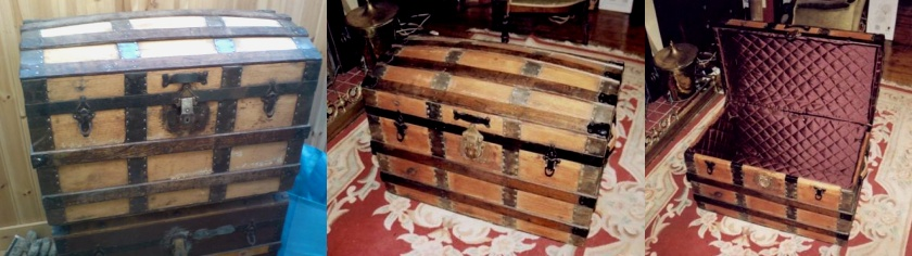 How to restore an old steamer trunk
