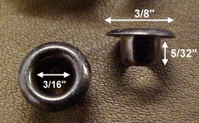 eyelets for shoes and boots