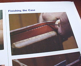 Book on leather work