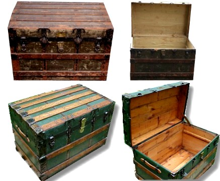 Antique Trunk Refinishing Service
