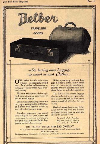 Belber trunks, history and value