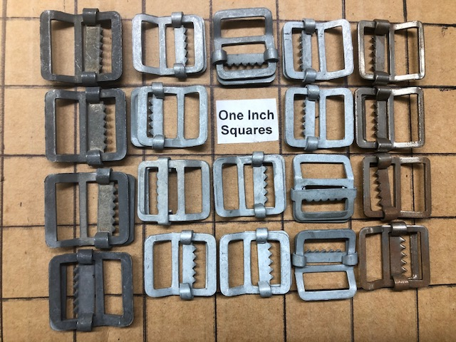 shiny nickel belt buckles for sale