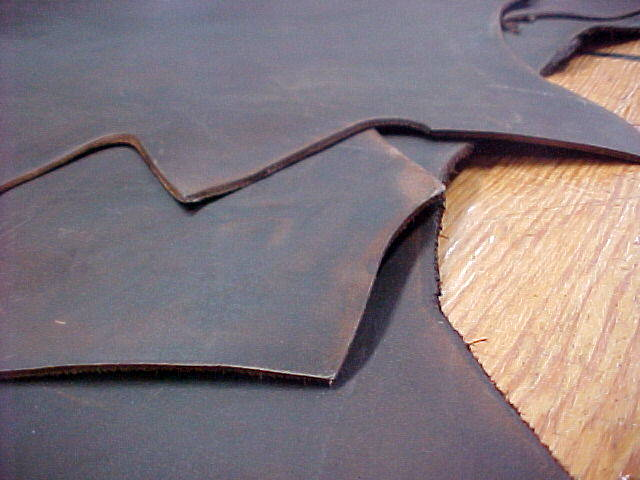 rustic waxy leather hides for sale