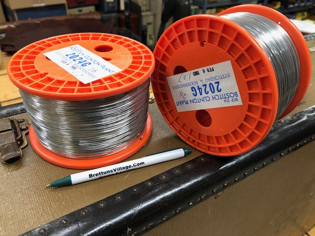 craft wire and book binding wire for sale
