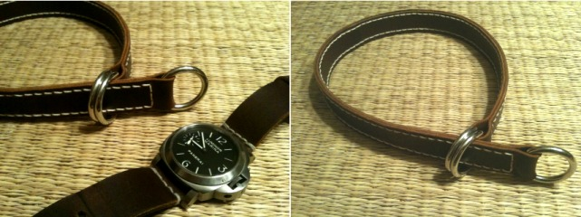 make your own leather watch band