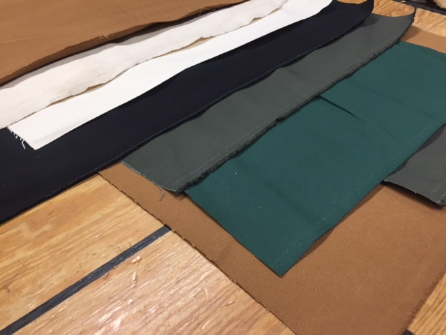 canvas repair fabric for steamer trunks