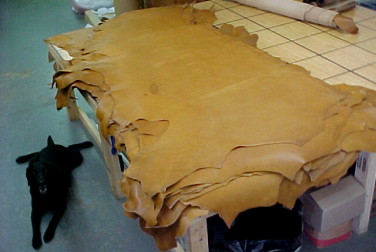 Leather Hides, Leather Craft Supplies and Hardware For Sale