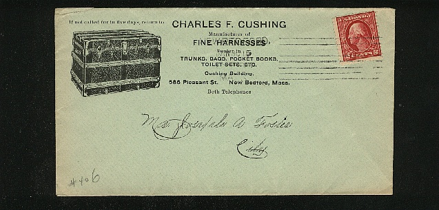 Charles F Cushing Trunk Maker