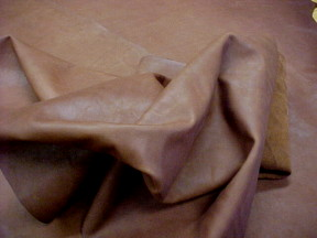 natural brown calf leather hides for sale