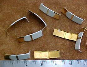 Ribbon decorations for leather crafts and purse making