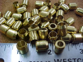 Brass beads for leather crafts