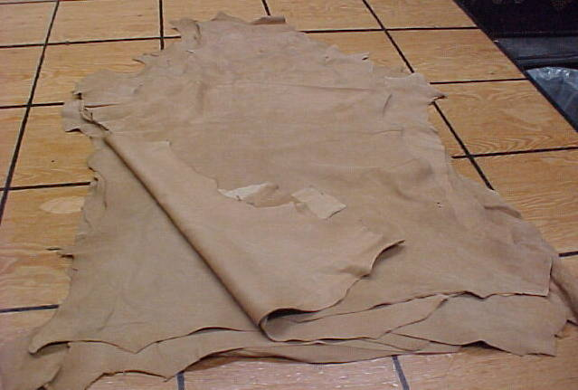 deer suede leather hides for sale