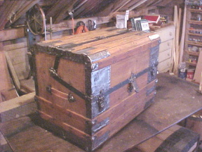 Secor trunk after refinishing