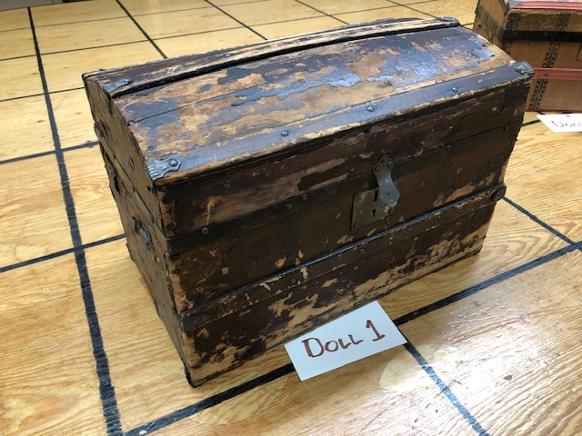 small antique trunk for sale
