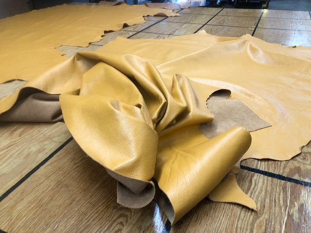 gold leather hides on the Deal of the Week