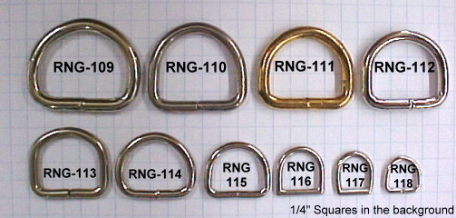D Rings for sale