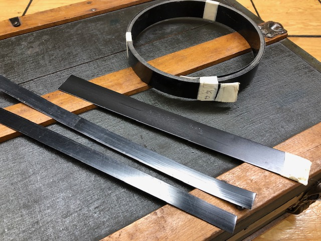Edge banding metal, sold by the foot