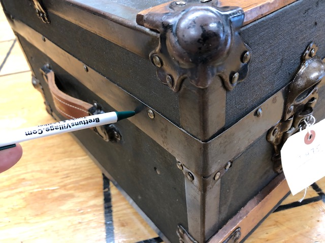 antique trunk replacement metal for sale