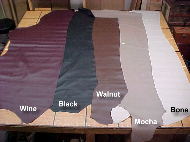 Soft textured leather hides for sale