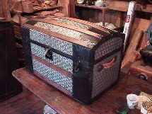restored antique trunks for sale