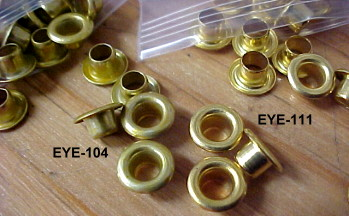 brass grommets for leather