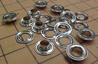 nickel grommets for leather