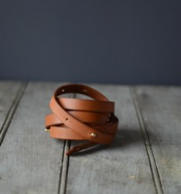 hand crfafted leather goods, made in Maine