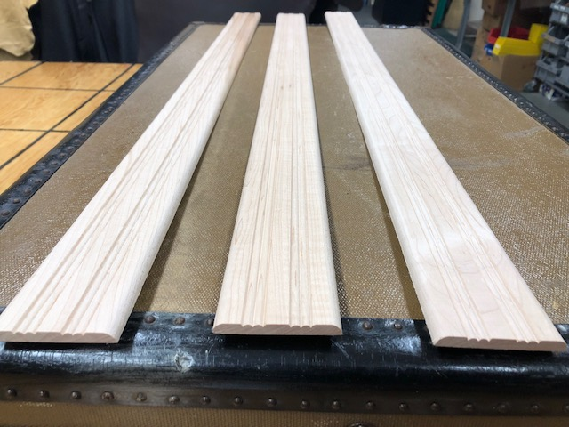 wood slats for antique trunks