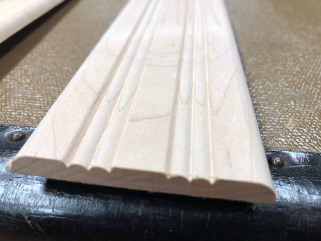 grooved wood slats for antique trunks
