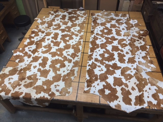 hair on cowhides for sale