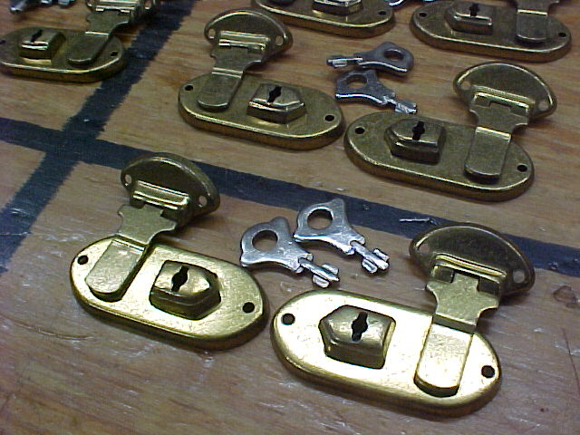 old stock box or case locks  for sale