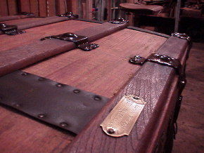 Antique trunk refinishing information