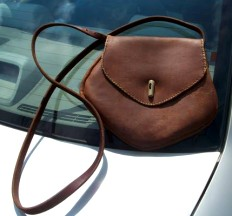 make your own purse using our leather