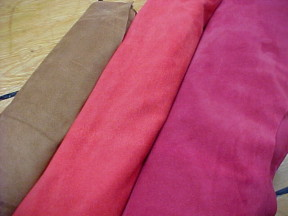 soft and thin suede leathers for sale