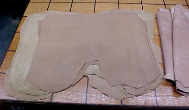 tan suede leathers for sale