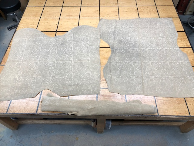 Embossed suede leather hides on sale