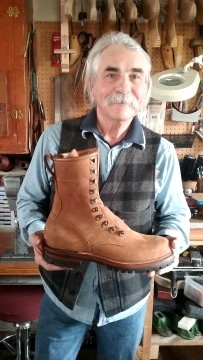 hand crafted leather boots for sale