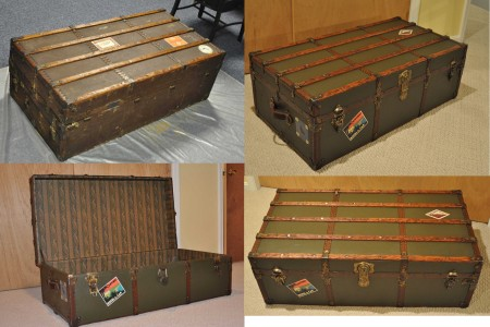 trunk refinished with parts from Brettuns Village