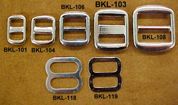 slider buckles for dog and cat collars