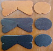 Leather lid lifter colors