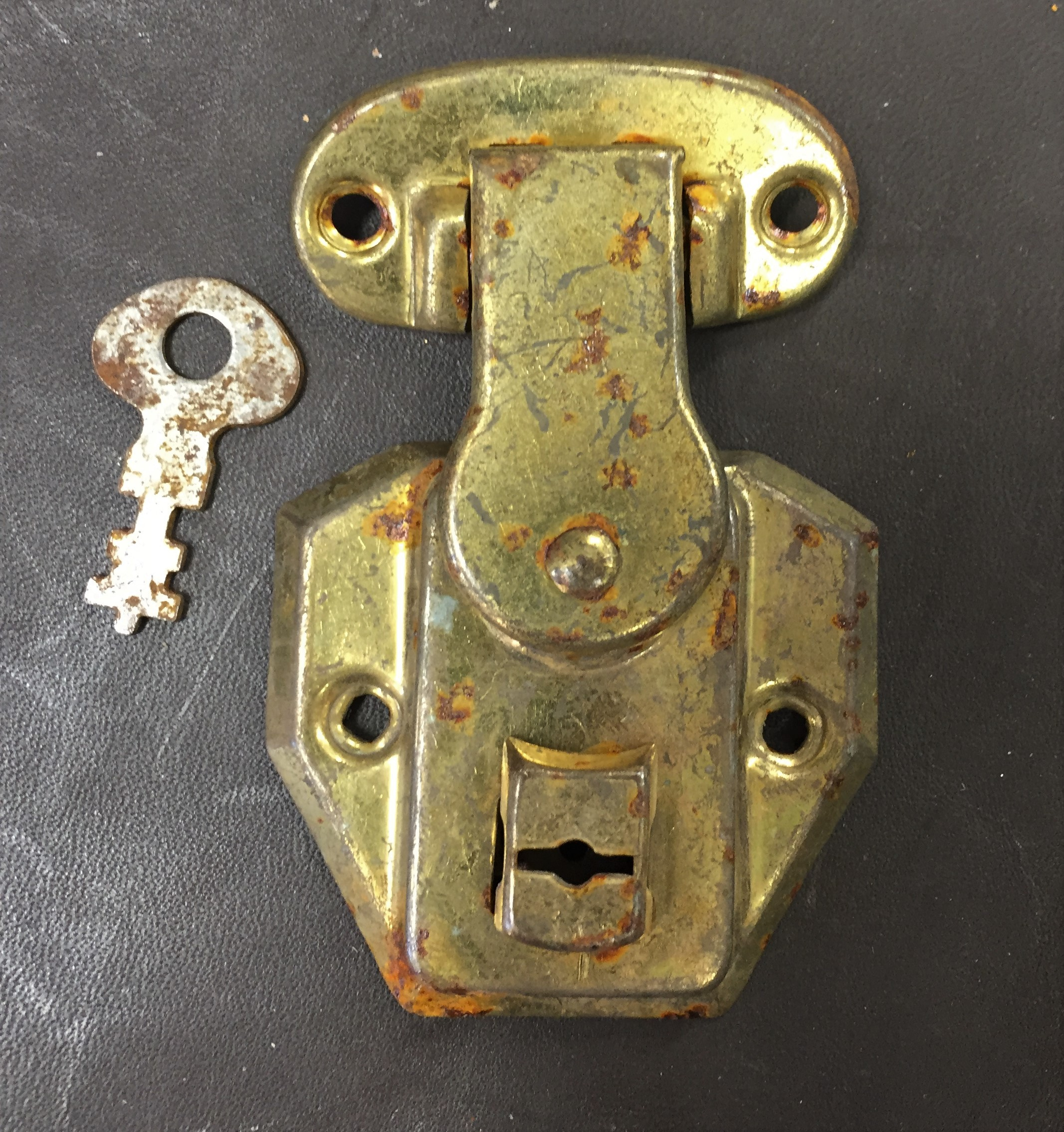 old excelsior trunk locks for sale
