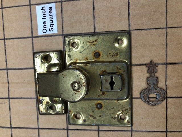 small steamer trunk locks for sale