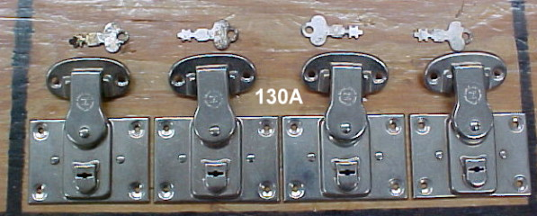 old trunk locks and keys for sale