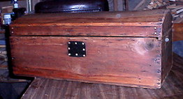 Refinished dome top trunk