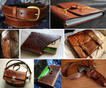 Stuff Made With Our Leather No Fooling