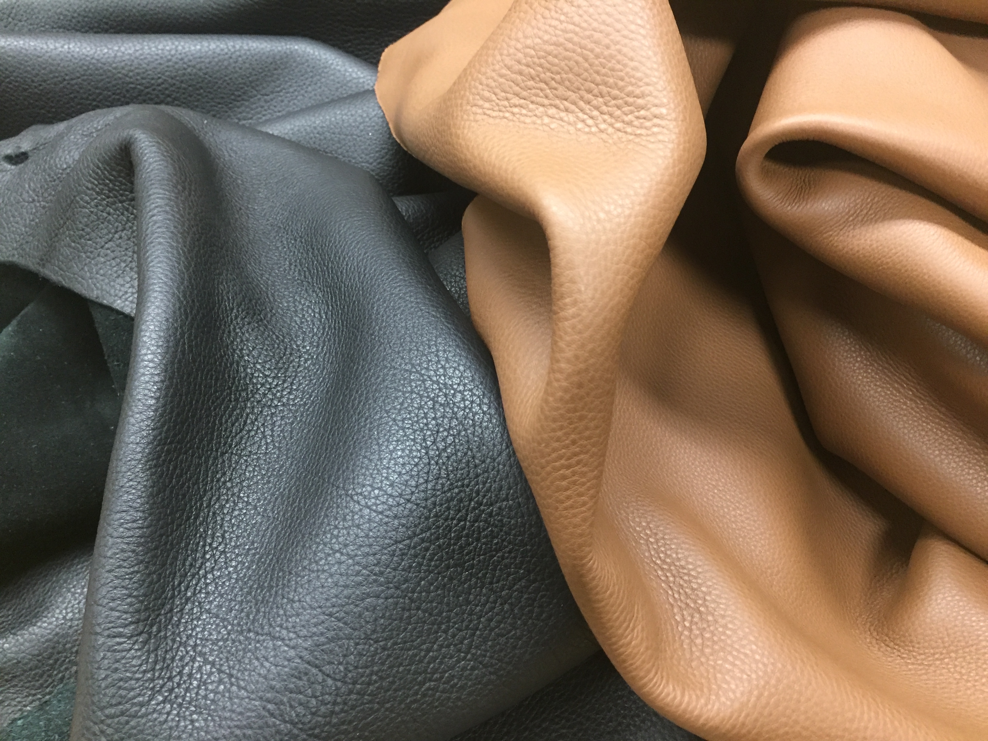 soft hand bag leather hides for sale