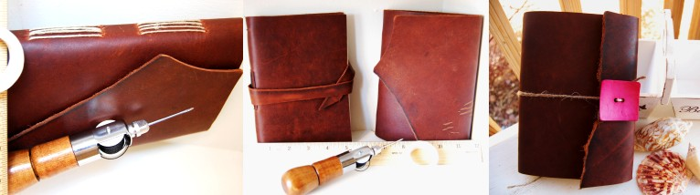 hand made leather crafts with nice leather